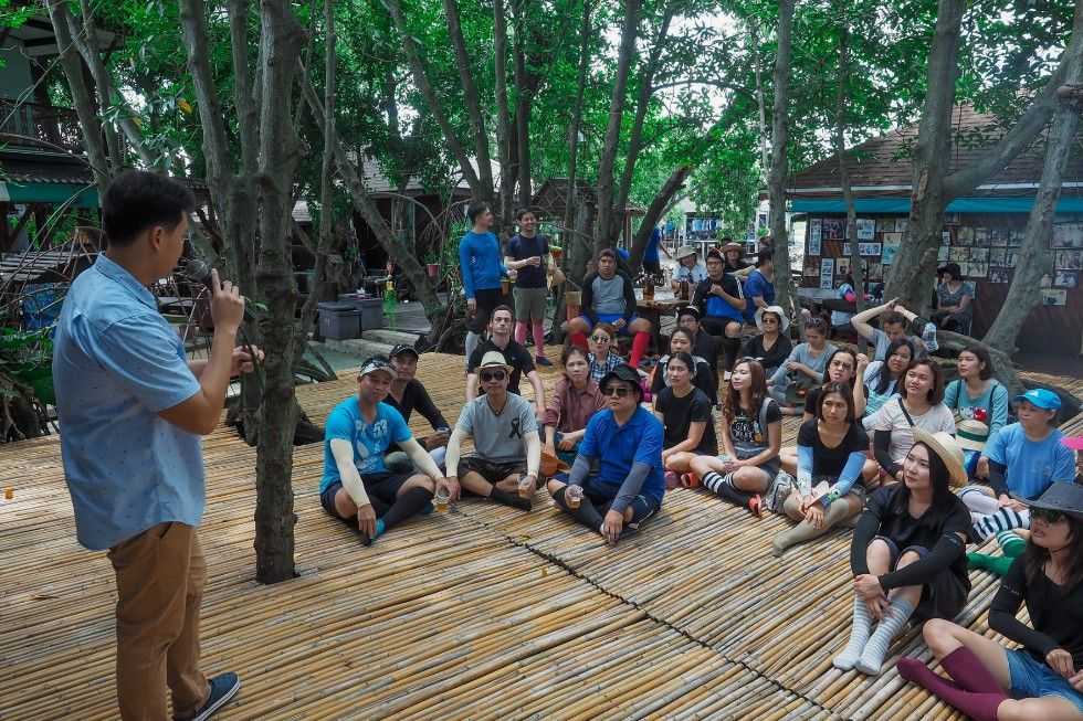Short talk on the importance of mangroves