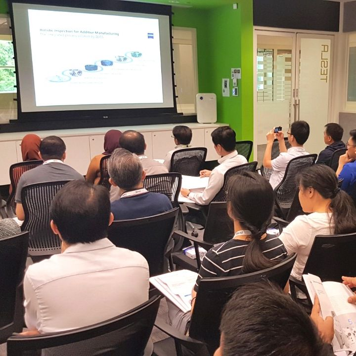 ZEISS 3D ManuFACT Additive Manufacturing Seminar at ARTC Singapore